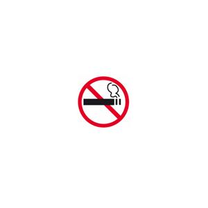 Pictogram Rygning Forbudt Indvendkl.