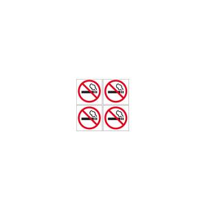 Pictogram Rygning Forbudt 4 Stk