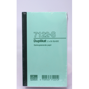 Duplikatbog Ferco 7122-Selvkopi