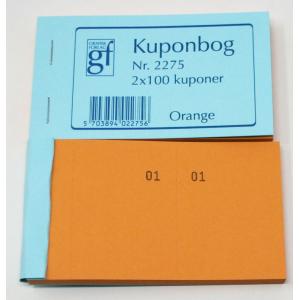 Kupon Bøger Orange