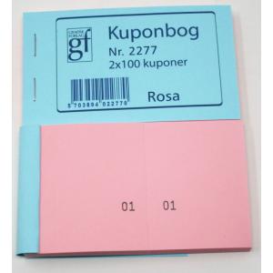 Kupon Bøger Rosa