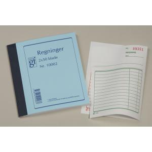 Grafisk Forlag Regning M/Kopi 10002