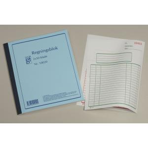 Regningsblok Grafisk Forlag  M/ Kopi  10020