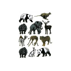 Stickers Afrikas Dyr  Ass Motiver