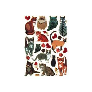 Stickers Katte  Ass Motiver