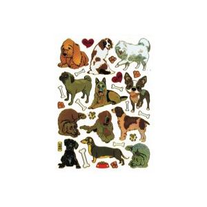 Stickers Hunde Ass Motiver