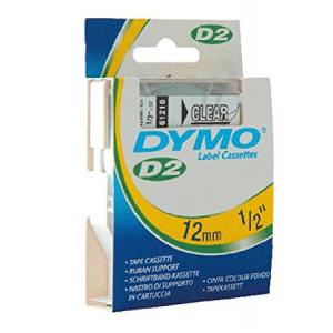 61210Dymo D2 - 6-9000 Tape - 12Mm - Klar