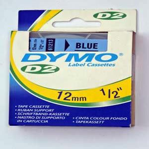 61213-Dymo D2 - 6-9000 Tape - 12Mm - Blå