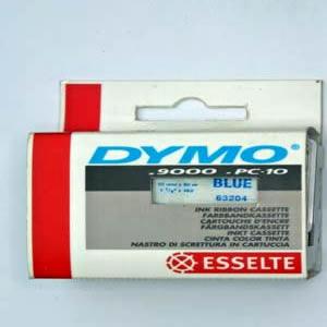 63204-Dymo Farvebånd - 32Mm - Blå