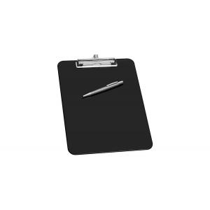 Clipboard A4 - Med Penholder - Sort - Wedo