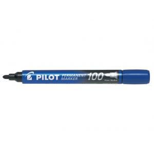 Pilot Marker 100 Blå Rund Spids