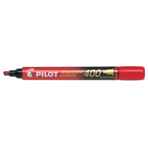 Pilot Marker 400 Rød Skrå Spids