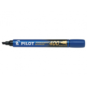Pilot Marker 400 Blå Skrå Spids