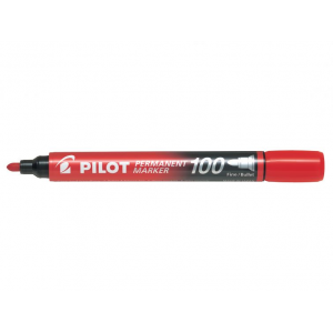 Pilot Marker 100 Rød