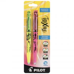 Pilot Blister Frixion Light 2-Pak Gul/Rosa