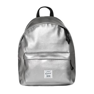 Taske -Drop17 Metallic Sølv - 41X30,5X15,5Cm 24L