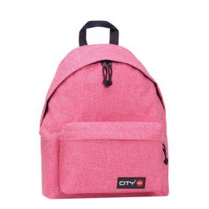 Taske -Drop 17 -Pink Mélange - 41X30,5X15,5Cm 24L