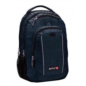 Taske - Mag30 - Blue Melange - 50X31X25Cm 32L
