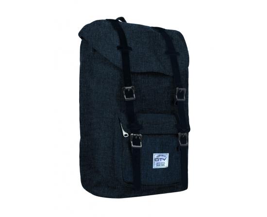 Taske - Bestie S79 - Blå Melange - 41X28X14Cm 20L