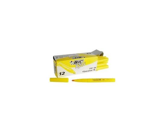 Bic Kids Visacolor Filt Pen Gul 12 Stk