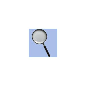 Læseglas/Lup Ø 75Mm  X 2,5