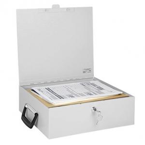 Dokoment Box A4 M/2 Nøgler 36,5 X 33 X 11 Cm