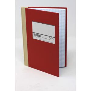 Protokol Pagna - A5 Kvadreret Rød
