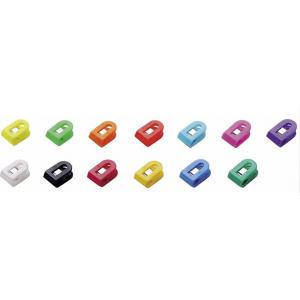 Brevklemme I Plast 1,5 X 2,5 X 1 Cm - Ass. Farver