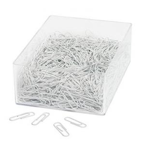 Papir Clips Wedo 27Mm 1000 Stk - Hvid