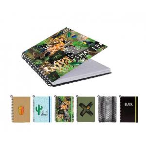 Notesbøger Kraft - 6 Ass Motiver