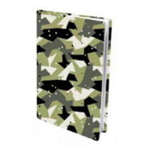 "Bogomslag Stræk"" A4 Army Dots"""