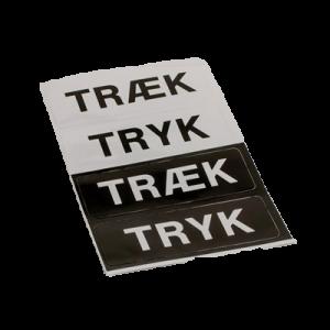Pictogram Tryk & Træk