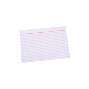 "Kartotekskort  ""A4"" M/Linier Ca. 100 Stk"