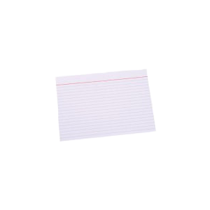 "Kartotekskort ""A6"" 105X148 M/Linier Ca. 100 Stk"