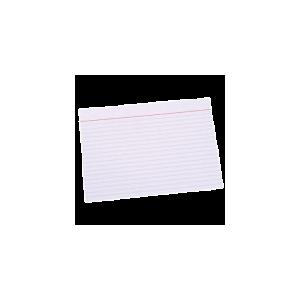 "Kartotekskort ""A5"" 210X148 M/Linier Ca. 100 Stk"