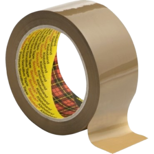 Tape Scotch 3707 Pak - 38X66-Brun/48