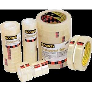 Tape Scotch 550 - Transparant 12X33