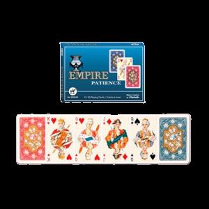 Spillekort - Empire Kabale Dobb.. 55 Kort (2019)