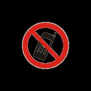 Pictogram Mobiltelefon Forbudt