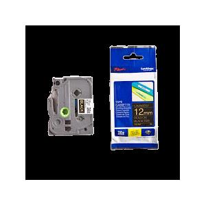 45018-Dymo D1 Tape - 12Mm - Sort/Guld
