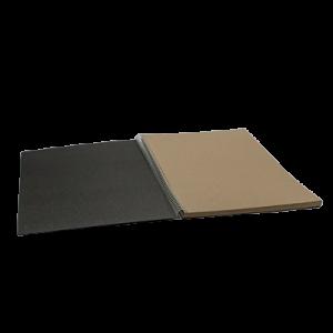 Udklip Folio - 17 Grå Blade - 24,3 X 34,2Cm