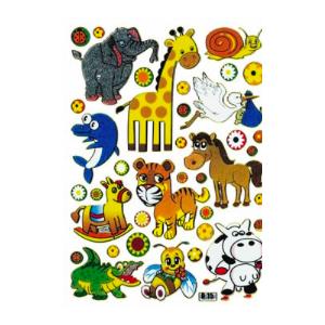 Stickers Glade Dyr
