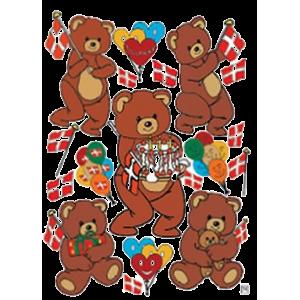 Stickers Fødselsdagsbamser