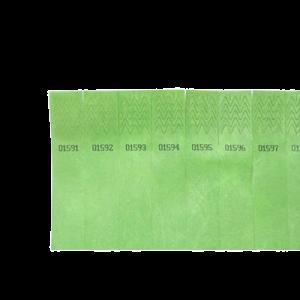 Festtegn Tystar - Grøn 100 Stk - Løse Ark