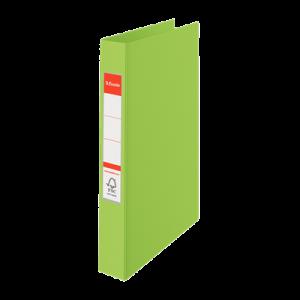 Ringordner A4 2R M / Etiket Grøn