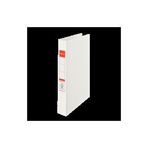 Ringordner A4 4R M / Etiket Hvid