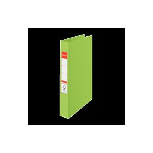 Ringordner A4 4R M / Etiket Grøn