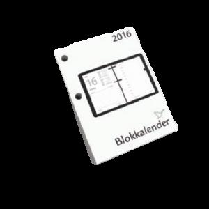 Blokkalender 8 X 11 Cm. 2020