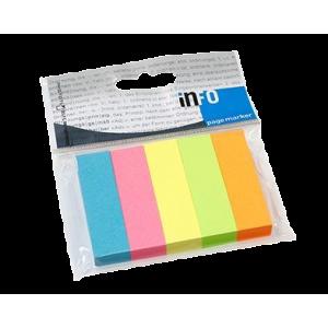 Sticky Notes Neonmix Faner 5 Stk A100 Blade