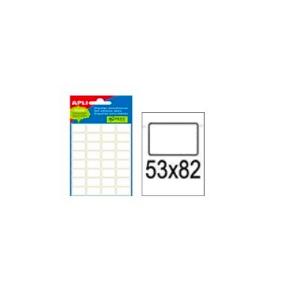 Etiket 53 X 82 Mm - Hvid